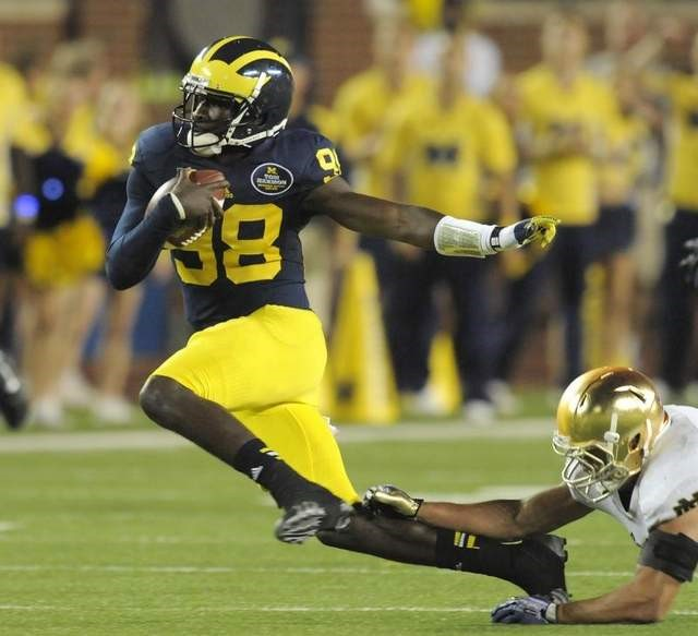 Devin Gardner says the 15 pounds he's added will make him more durable when the season starts this fall.